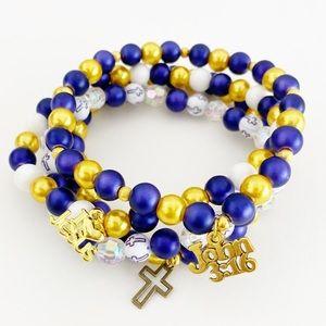 Jewelry - John 3:16 Christian Scripture Bracelets, Spiritual